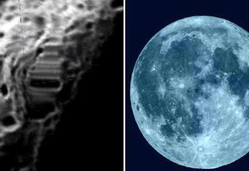 Ayda qeyri-adi obyekt kəşf edildi - VİDEO