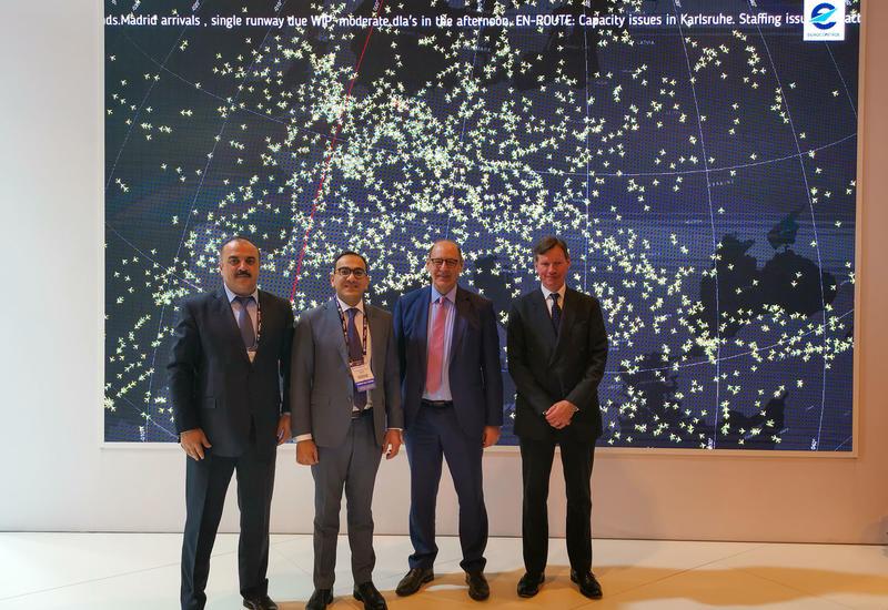 AZANS и EUROCONTROL провели встречу в рамках World ATM Congress 2019