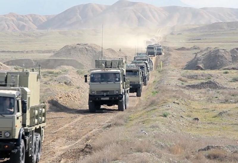 Войска Нахчыванского гарнизона подняты по тревоге