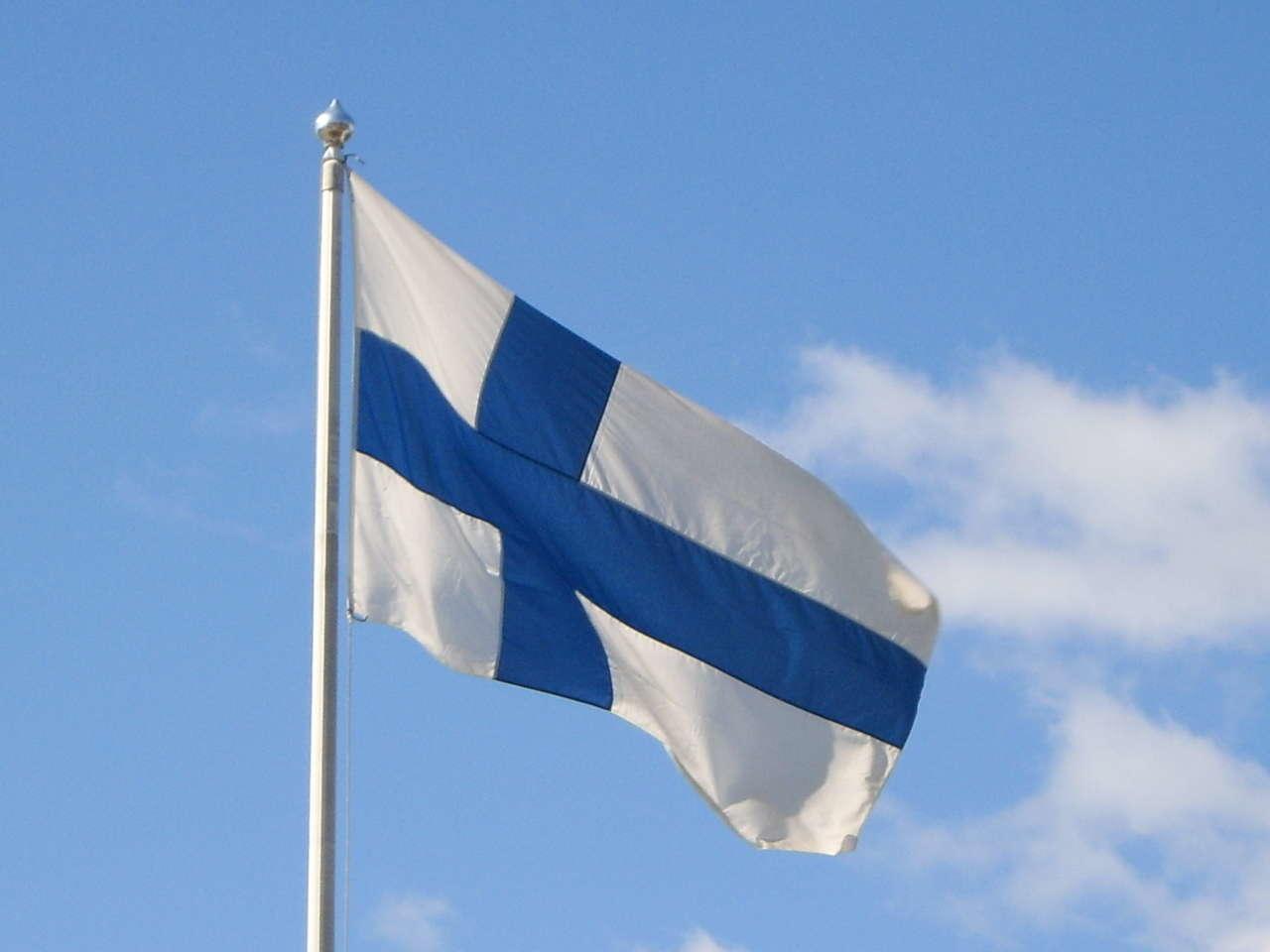 Картинки финляндия флаг, такое
