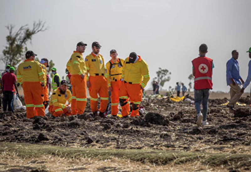 """В Эфиопии приступили к изучению """"черных ящиков"""" разбившегося Boeing 737"""