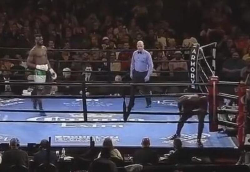 Самый короткий боксёрский поединок закончился без единого удара