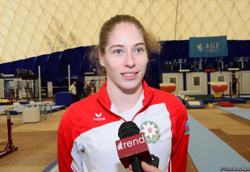 Азербайджанская гимнастка Марина Некрасова прошла в финал Кубка мира
