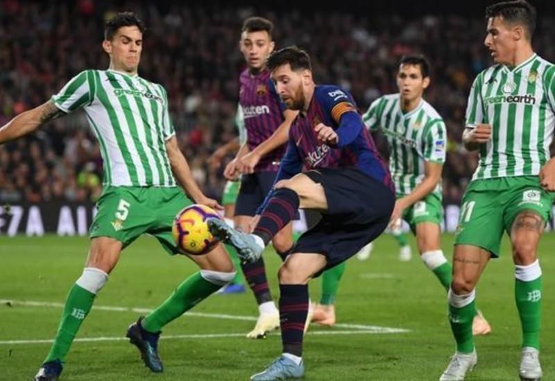 Хет-трик Месси помог «Барселоне» разгромить «Бетис»
