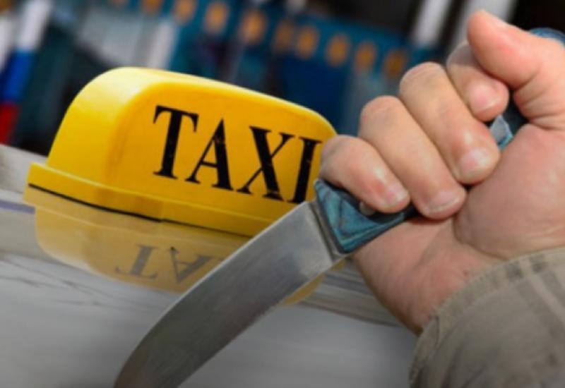 В Баку таксист с ножом напал на пассажира