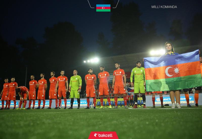 Сборная Азербайджана сыграла вничью с Россией в отборе Евро-2019