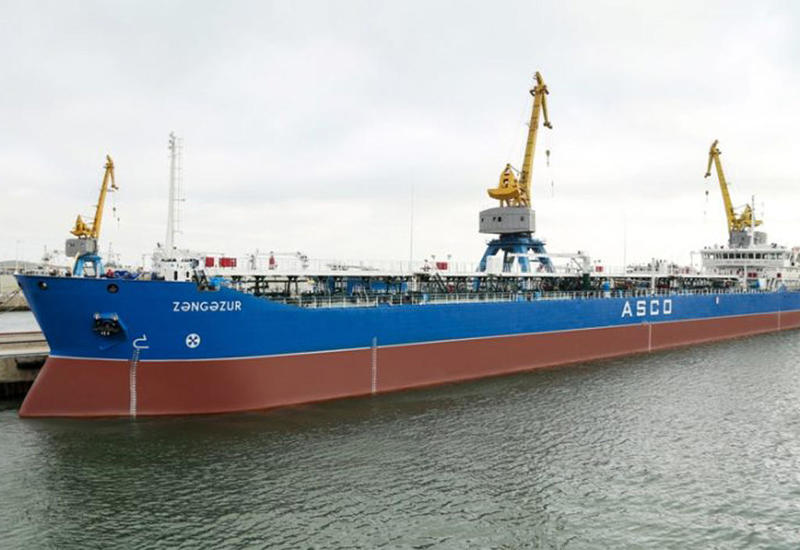 "В Азербайджане капитально отремонтирован танкер ""Зангезур"" <span class=""color_red"">- ФОТО</span>"