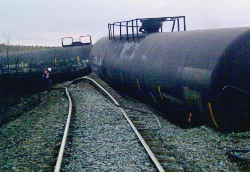 Во Франции сошел с рельсов грузовой поезд с токсичными веществами