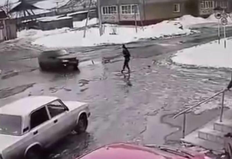 Водитель сбил бывшую супругу из-за запрета встречаться с дочерью