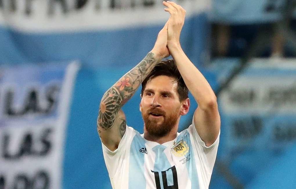 Форвард сборной Аргентины Лионель Месси несыграет сМарокко из-за травмы паха