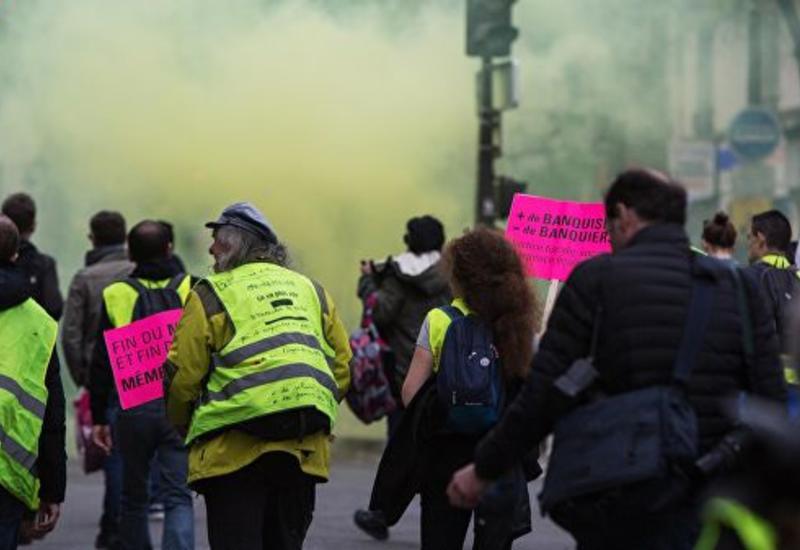 """""""Желтые жилеты"""" нанесли ущерб ценой в несколько миллионов евро"""