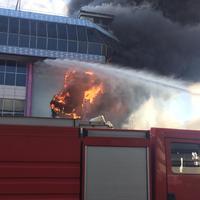 "Стала известна причина крупного пожара в Баку <span class=""color_red"">- ОБНОВЛЕНО</span>"