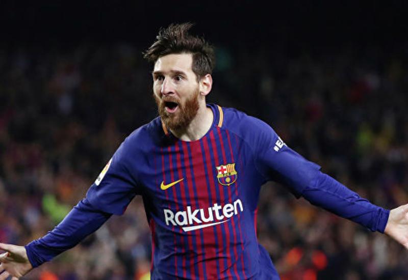 """Гол Месси назван лучшим в истории """"Барселоны"""""""