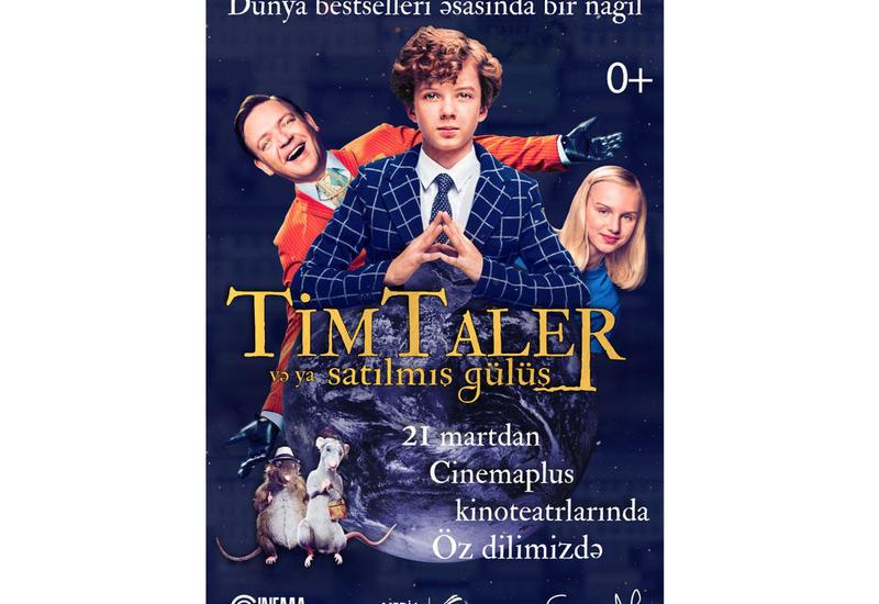 """В Баку начался показ семейного фильма """"Тим Талер, или Проданный смех"""""""