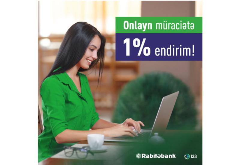 Rabitəbank,  onlayn kredit müraciəti edənlər üçün faziləri endirir!