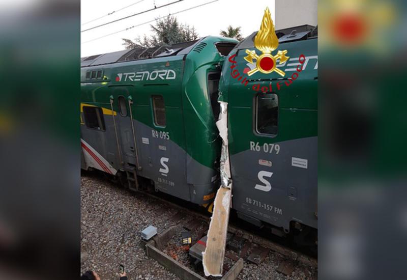Столкновение поездов в Италии: 50 пострадавших