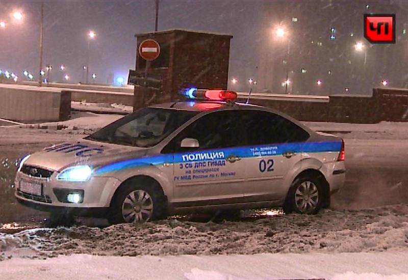 В Москве сбили сотрудника ДПС