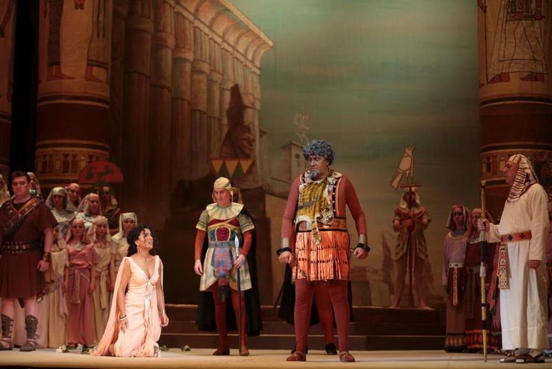 """Роскошная """"Аида"""" вновь на сцене Театра оперы и балета"""