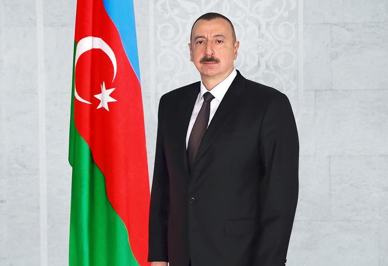Президент Ильхам Алиев выразил соболезнования Хасану Роухани