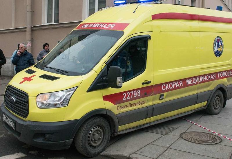 Страшный взрыв в Санкт-Петербурге, есть раненые