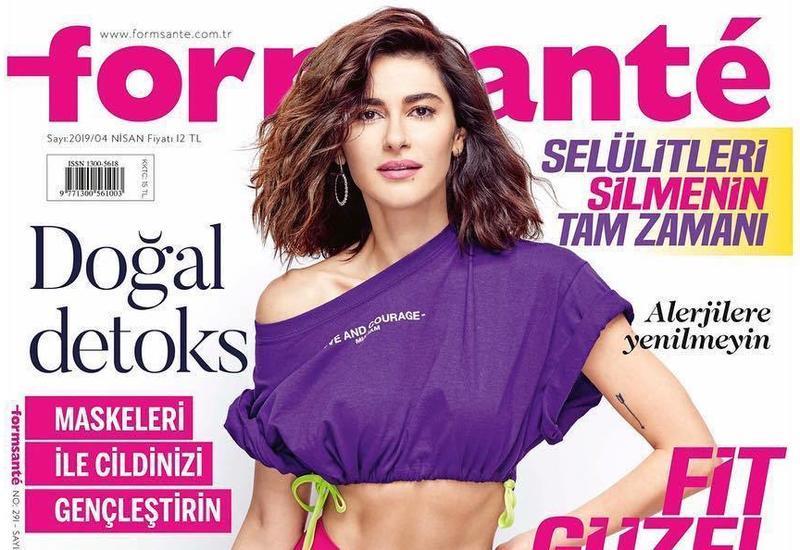 Азербайджанская актриса попала на обложку известного глянца