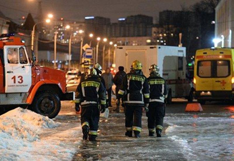 Пожар в России, есть погибшие