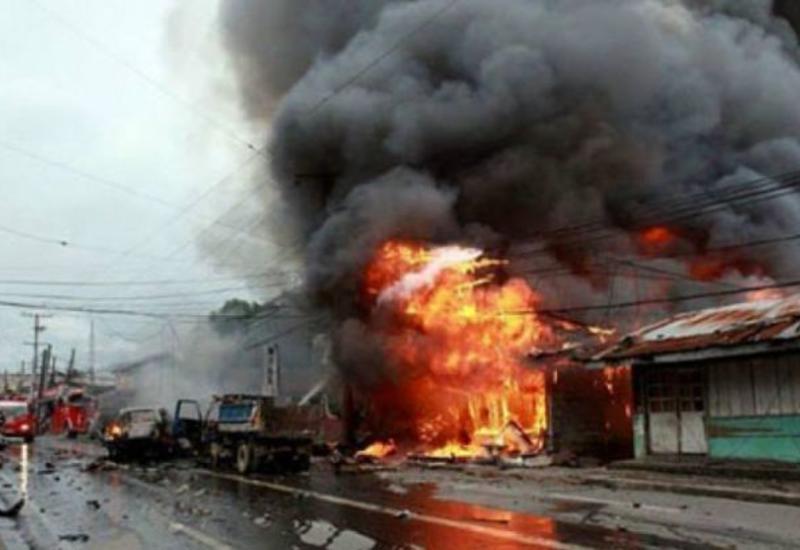 Взрыв на Филиппинах, много пострадавших