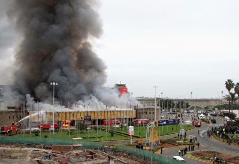 В аэропорту Найроби произошел пожар