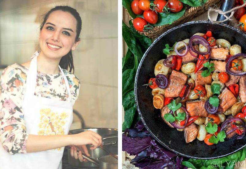 Весенний рецепт запеченного лосося от Или Мамедовой