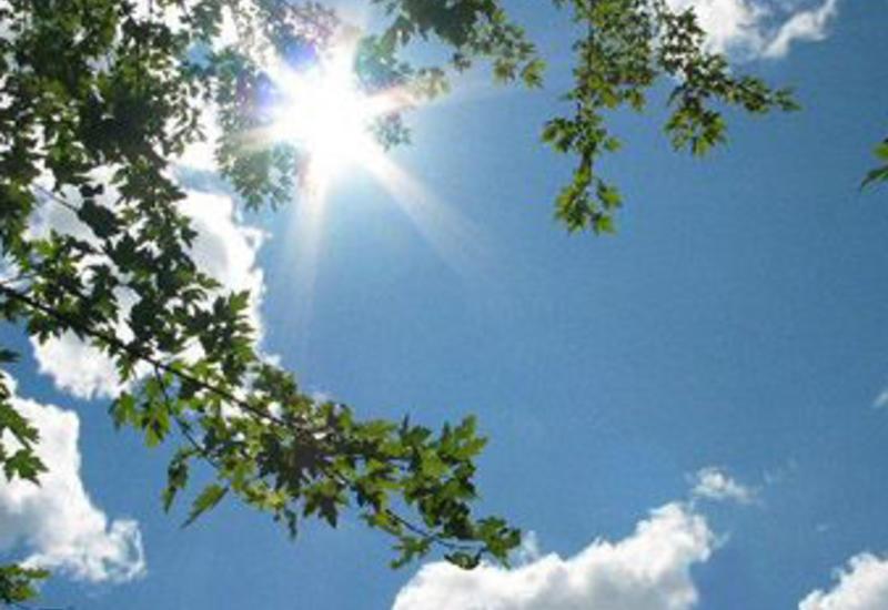 В Азербайджане будет 32-градусная жара