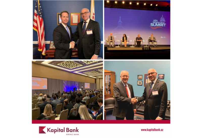 Kapital Bank принял участие в Вашингтонском саммите