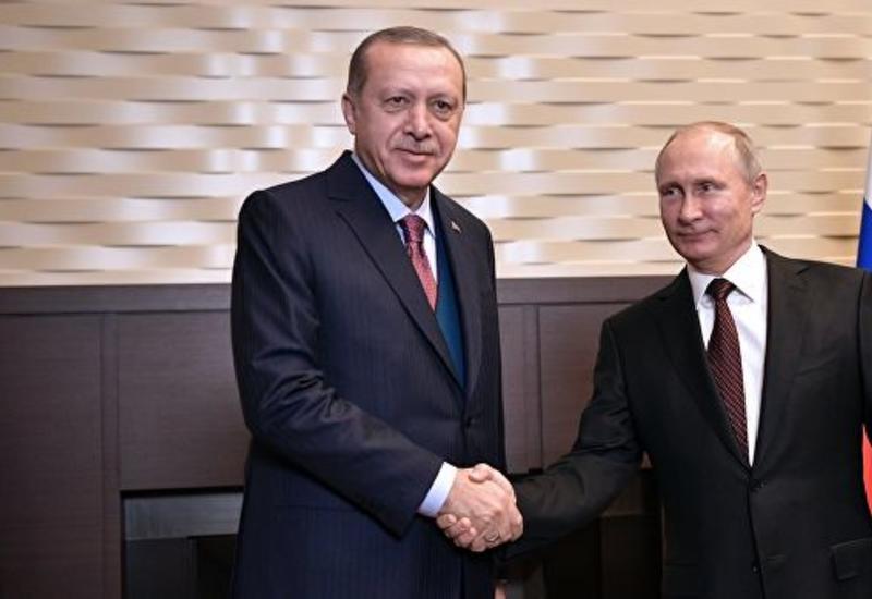 В России начались переговоры Путина и Эрдогана