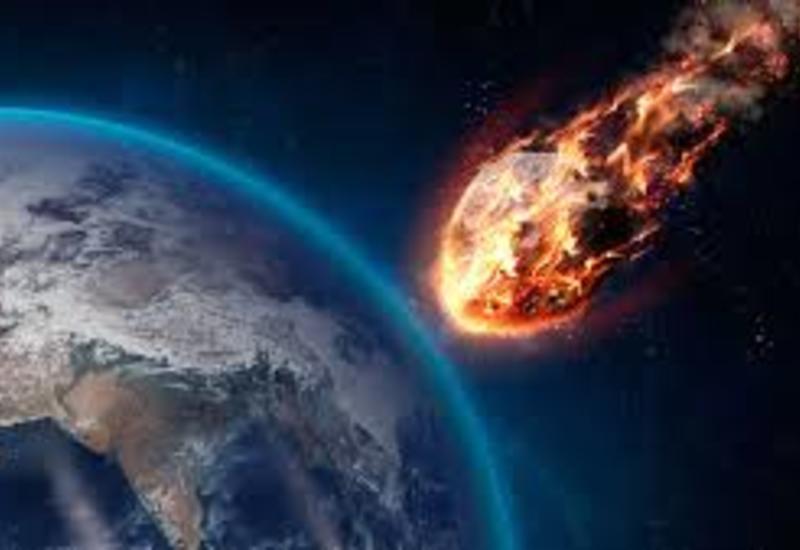 Жители Самары засняли на камеры падение метеорита