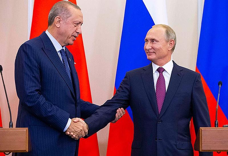 Эрдоган и Путин обсудят ситуацию на Южном Кавказе