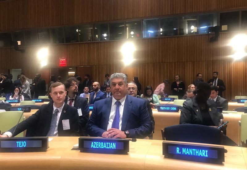 Азербайджан призвал ООН не ограничиваться одними обсуждениями