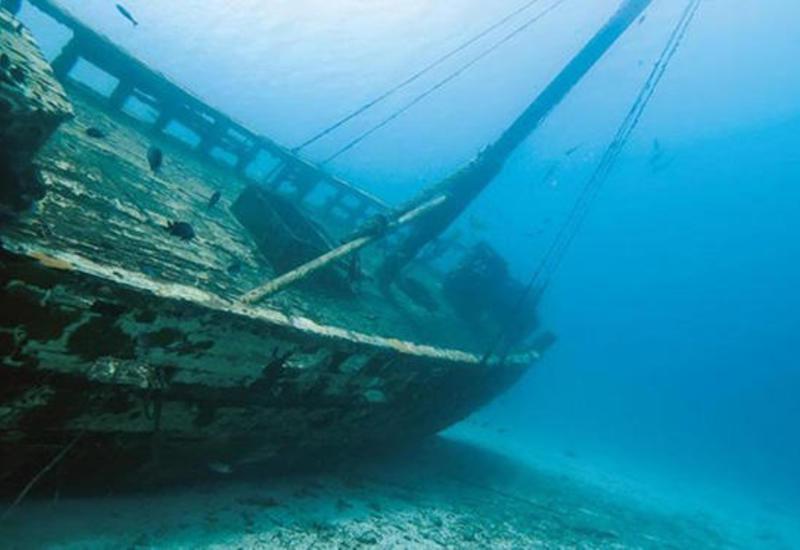 У берегов Антальи обнаружили судно затонувшее 3,6 тыс. назад