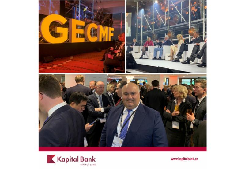 Kapital Bank участвует в форуме «Глобальная экономика и Рынки капиталов»
