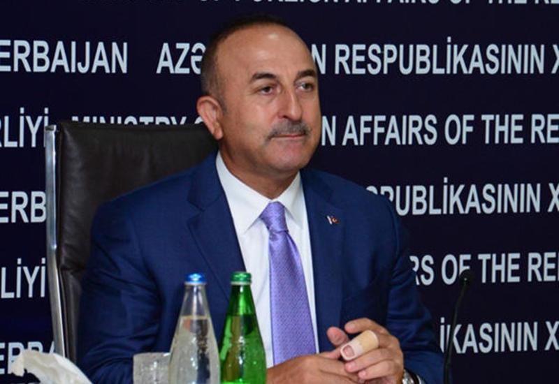 """Чавушоглу раскритиковал решение Макрона из-за т. н. """"геноцида армян"""""""
