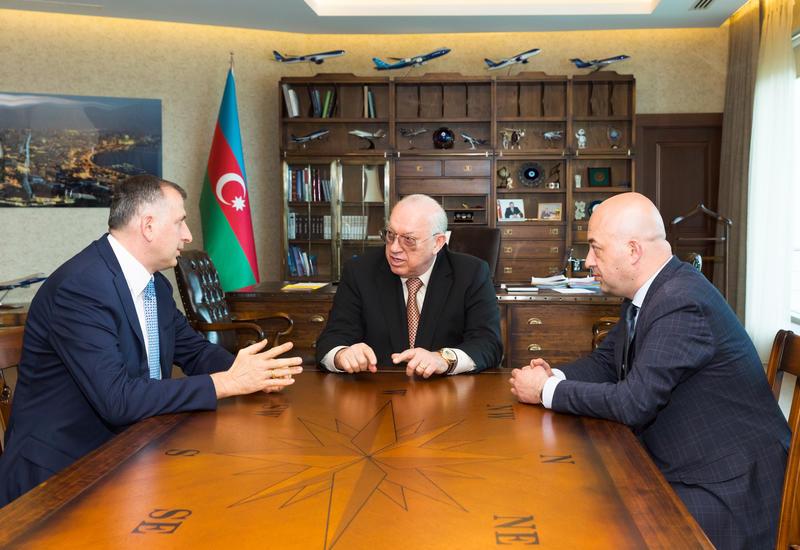 Президент AZAL встретился с мэром Батуми