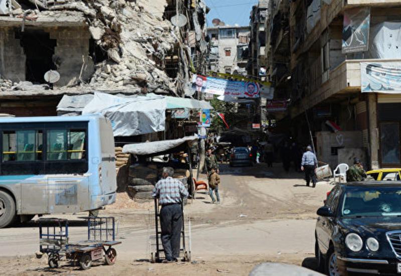 Боевики обстреляли рынок в Сирии