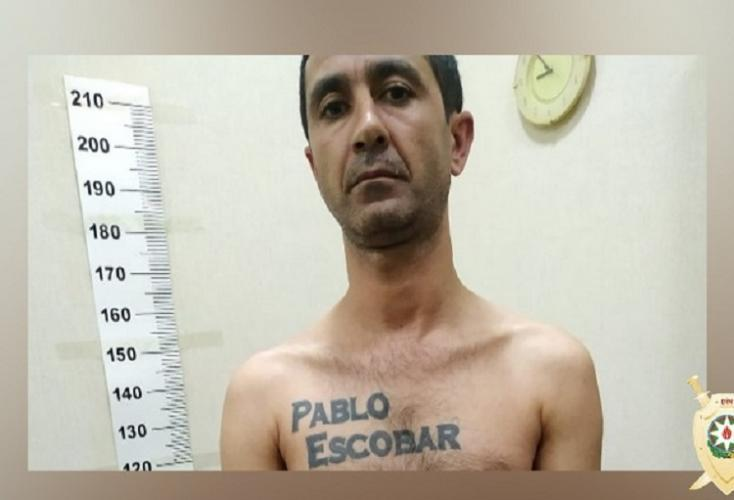 В Баку поймали Пабло Эскобара