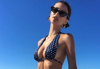 """Самый модный купальник этого сезона на Эмили Ратаковски <span class=""""color_red"""">- ФОТО</span>"""