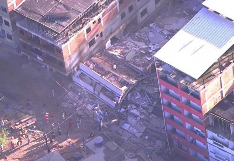 В Бразилии число погибших при обрушении зданий возросло до девяти