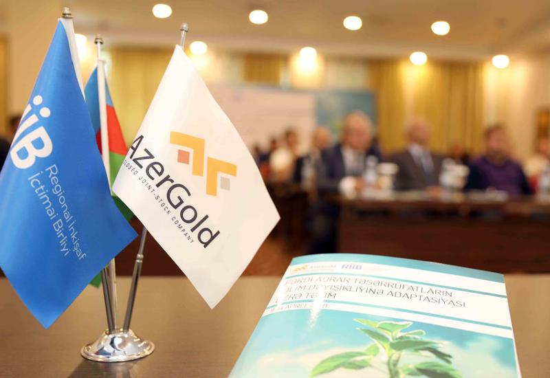 """AzerGold и ОО """"Региональное Развитие"""" организовали тренинг на тему климатических изменений"""