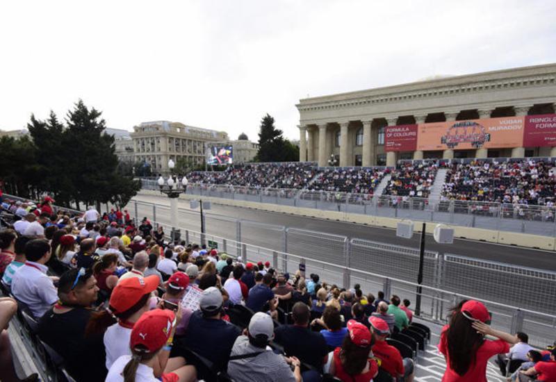Продажи билетов на Гран при Азербайджана Формулы 1 из года в год растут
