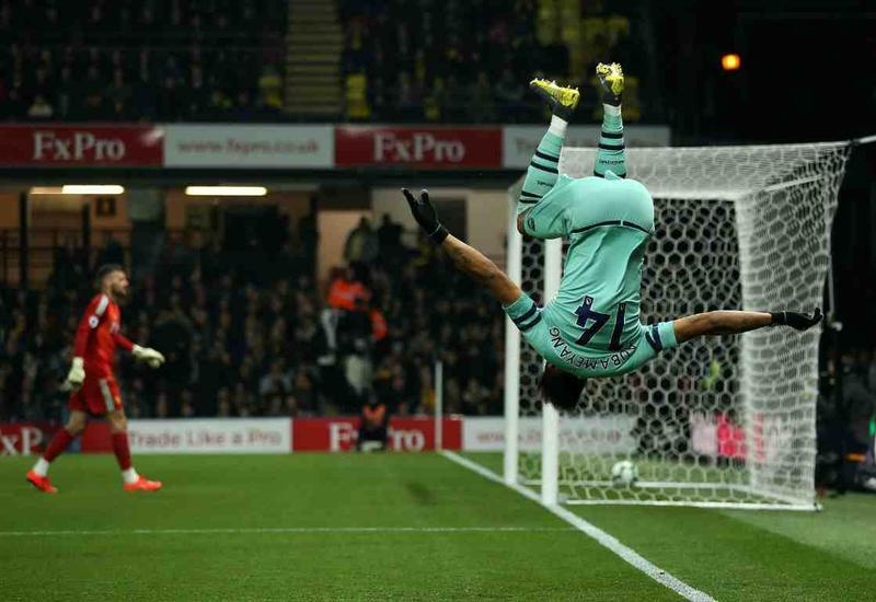 «Арсенал» победил «Уотфорд» и догнал «Челси»