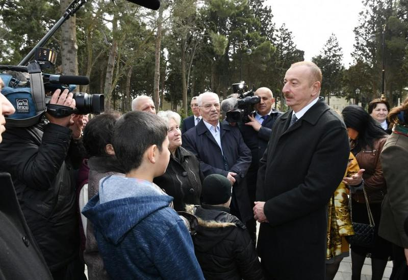 Президент Ильхам Алиев: Азербайджан проявляет лидерство в любой сфере