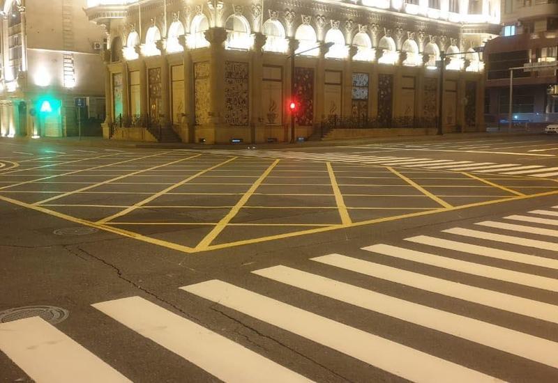 На центральных улицах Баку перекроют перекрестки