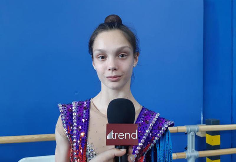 Израильская гимнастка: В Национальной арене гимнастики в Баку очень удобно выступать