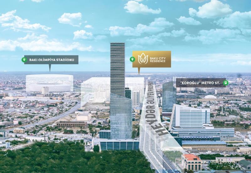 """Знаменитая «Медиа-деревня» выставляется на продажу под названием Baku City Residence <span class=""""color_red"""">- ФОТО</span>"""